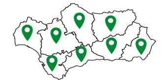 Mapa Pinturas Andalucía